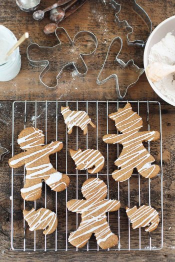 Gluten-Free Iced Gingerbread Men