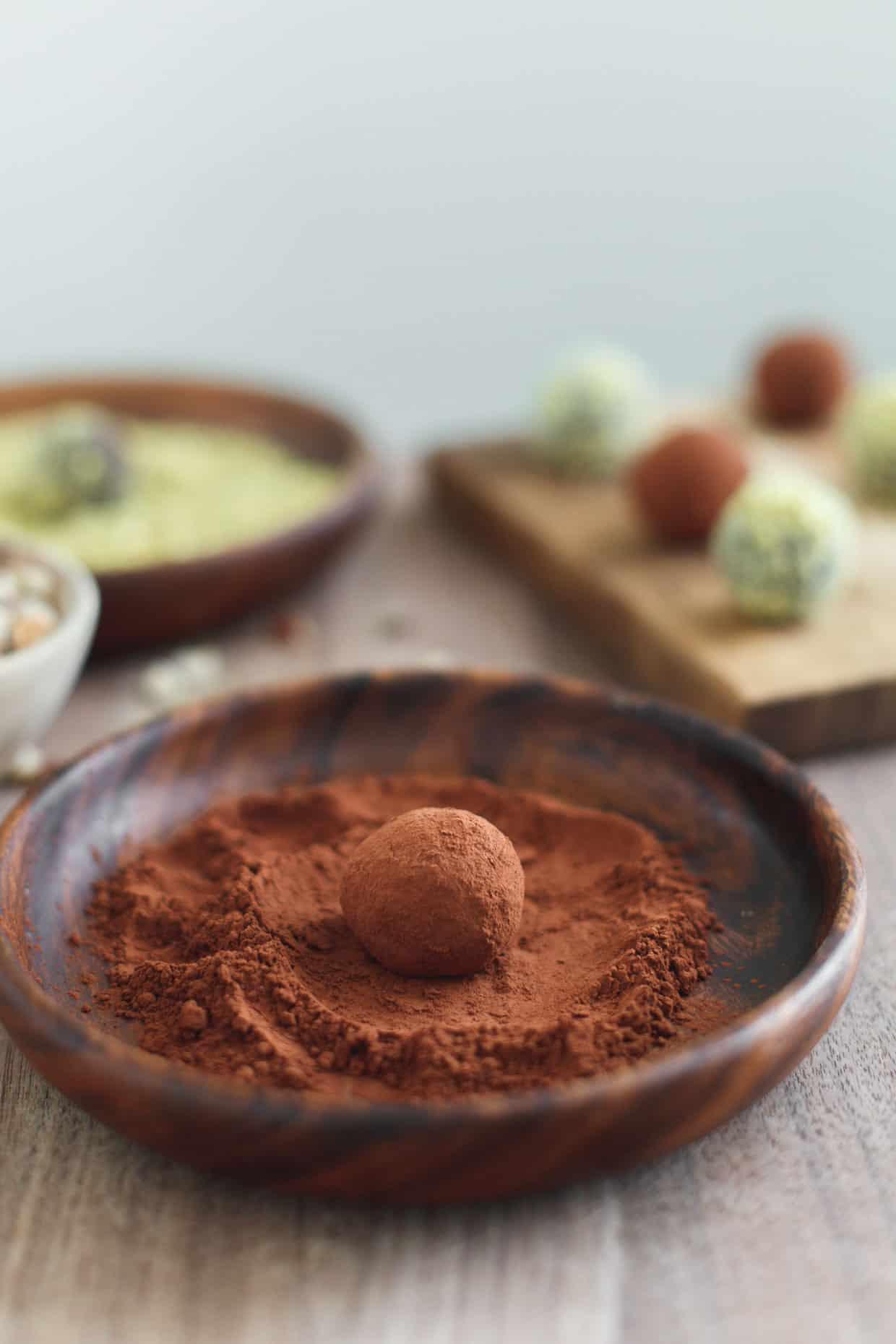 Cocoa Nutella Truffles