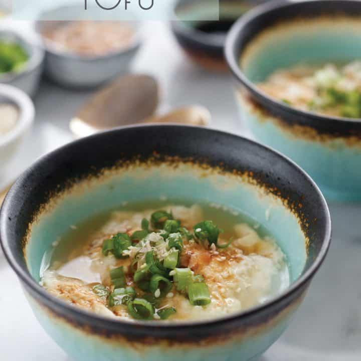 Oboro Tofu: Silken Tofu Curds