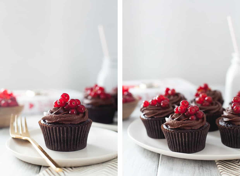 Gluten-Free Chocolate Cupcake with Chocolate Buttercream