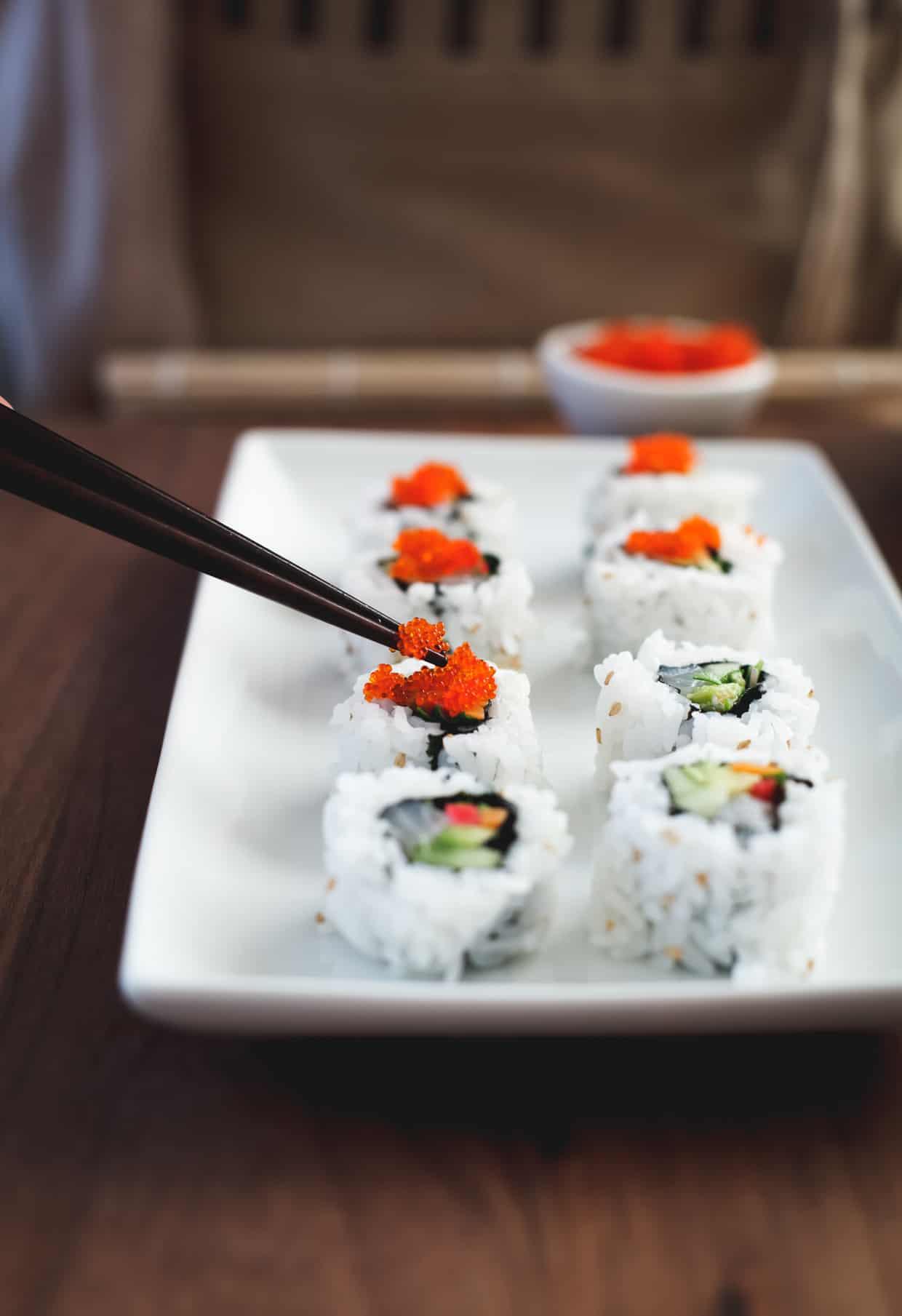 Sushi Roll Roe
