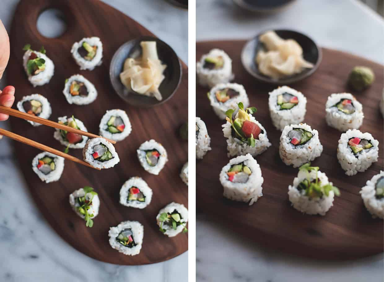 DIY Sushi Rolls at Home
