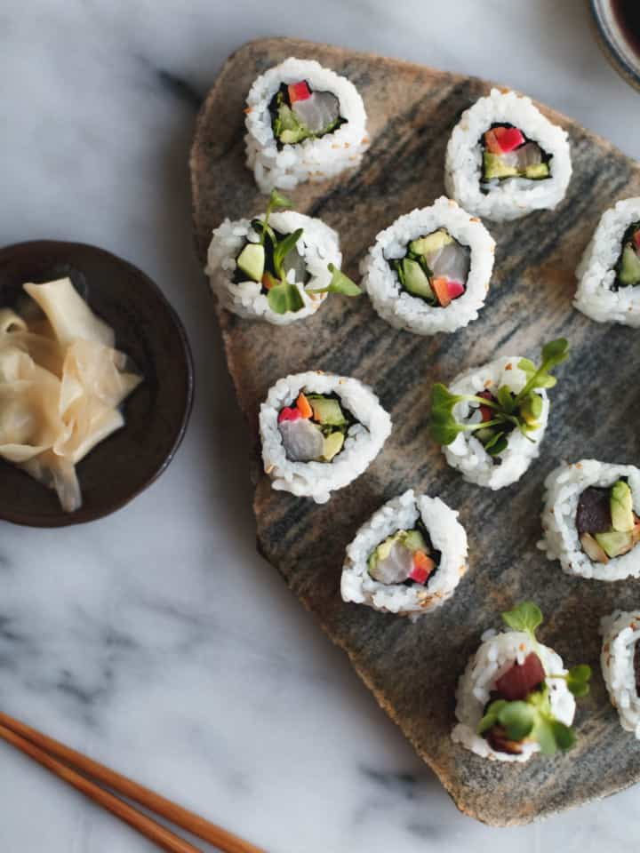 DIY Sushi Rolls at Home