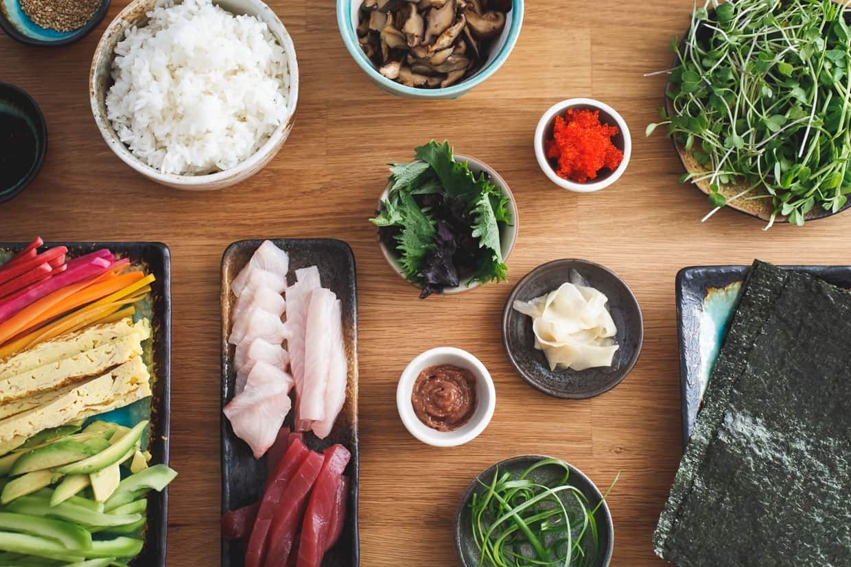 DIY Sushi at Home