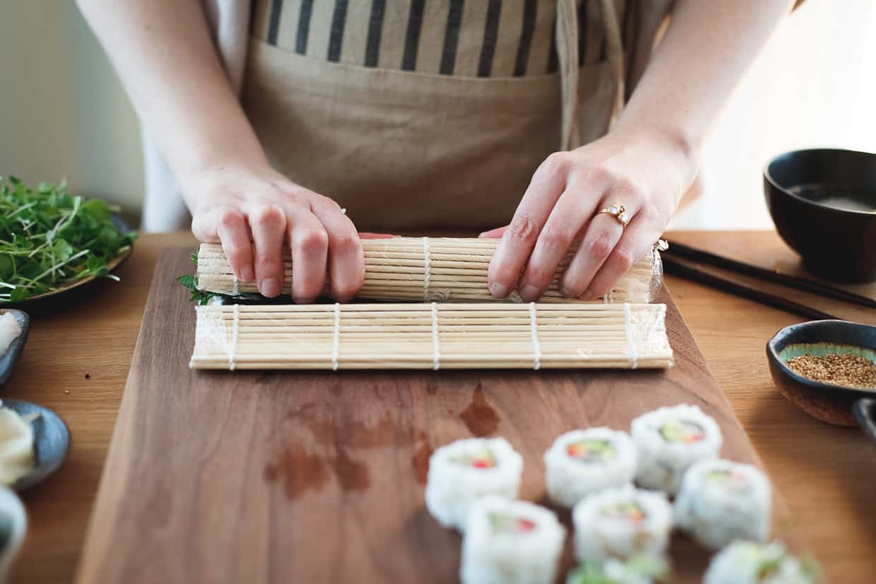 How to make sushi at home 11
