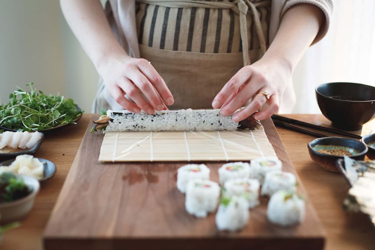 DIY Sushi Roll at Home