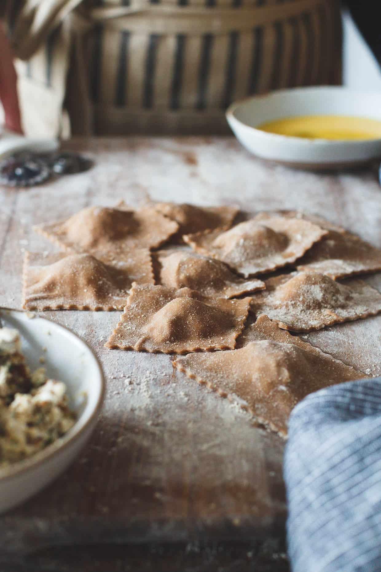 Gluten-Free Chestnut Flour Pasta Ravioli