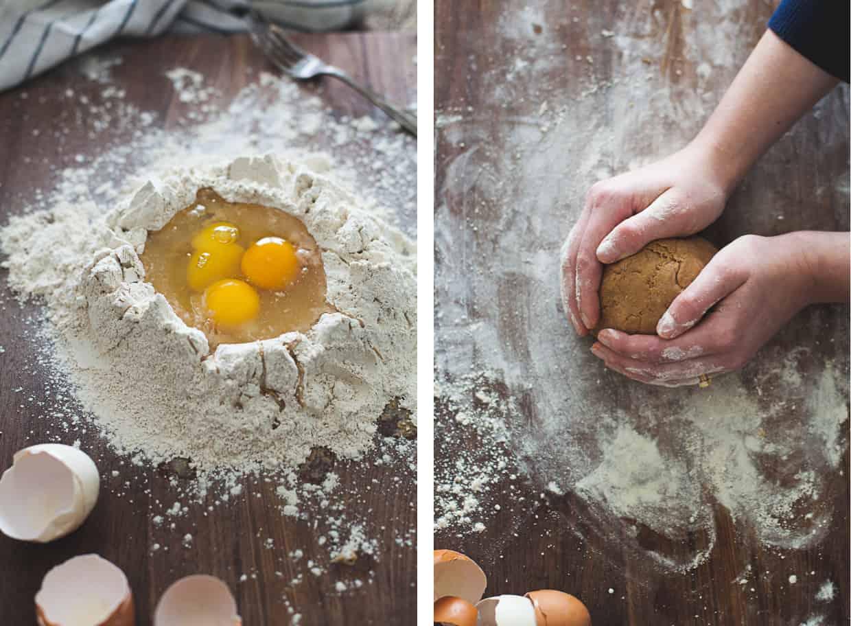 Gluten-Free Chestnut Flour Pasta Dough