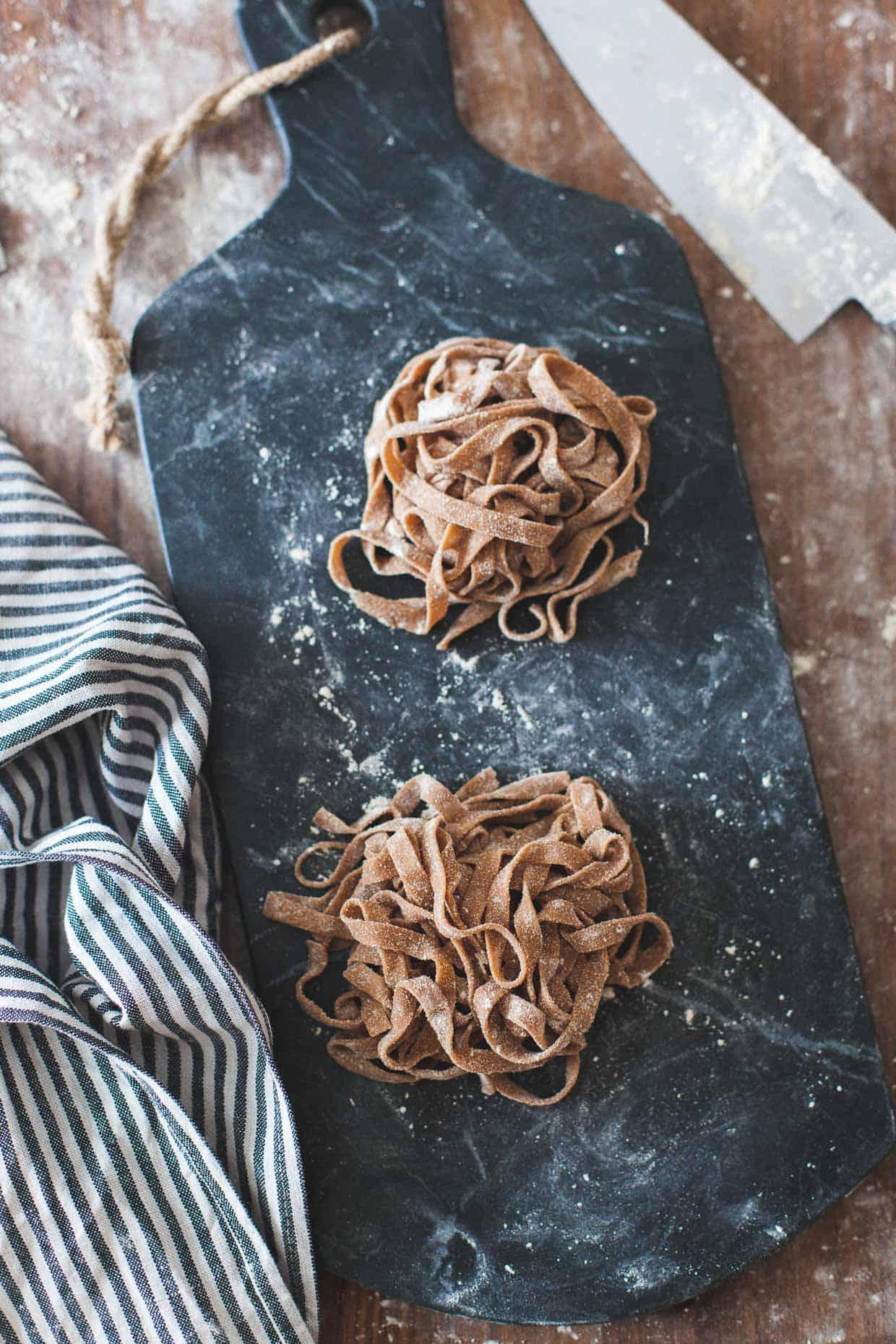 Gluten-free Chestnut Flour Pasta Fettuccine