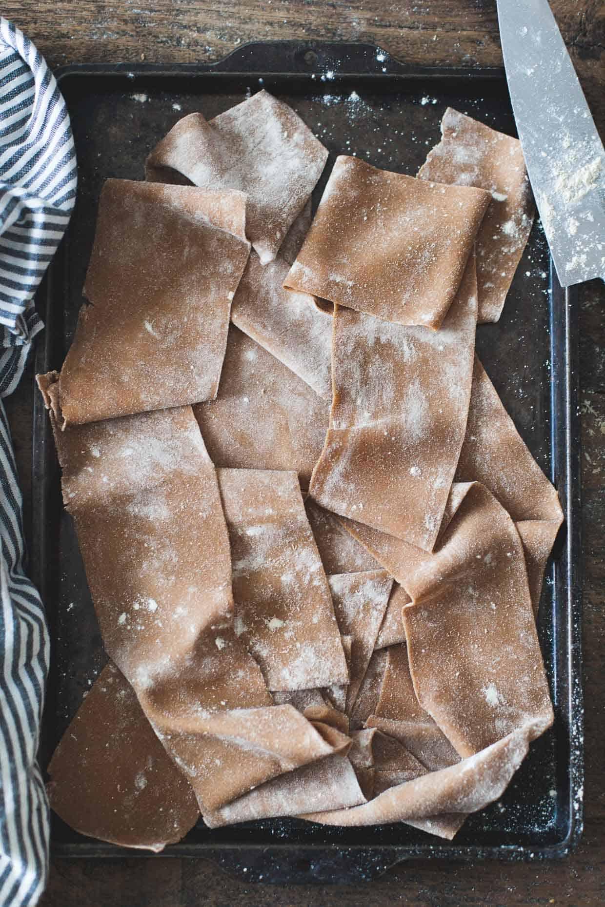 Gluten-Free Chestnut Flour Pasta Sheets