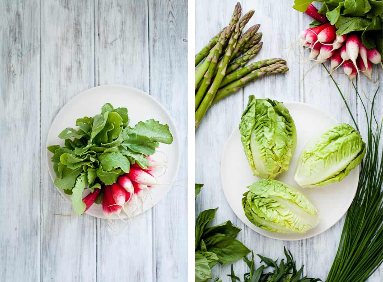 Little Gem Spring Salad