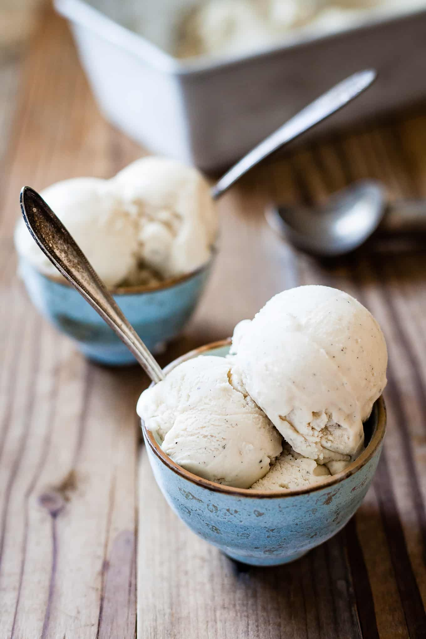 Vegan Vanilla Bean Ice Cream Recipe