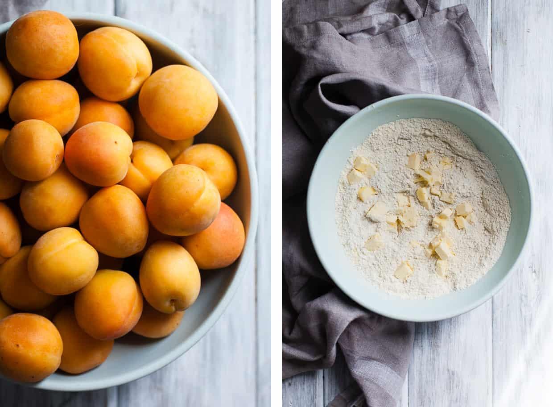 Apricot Cobbler