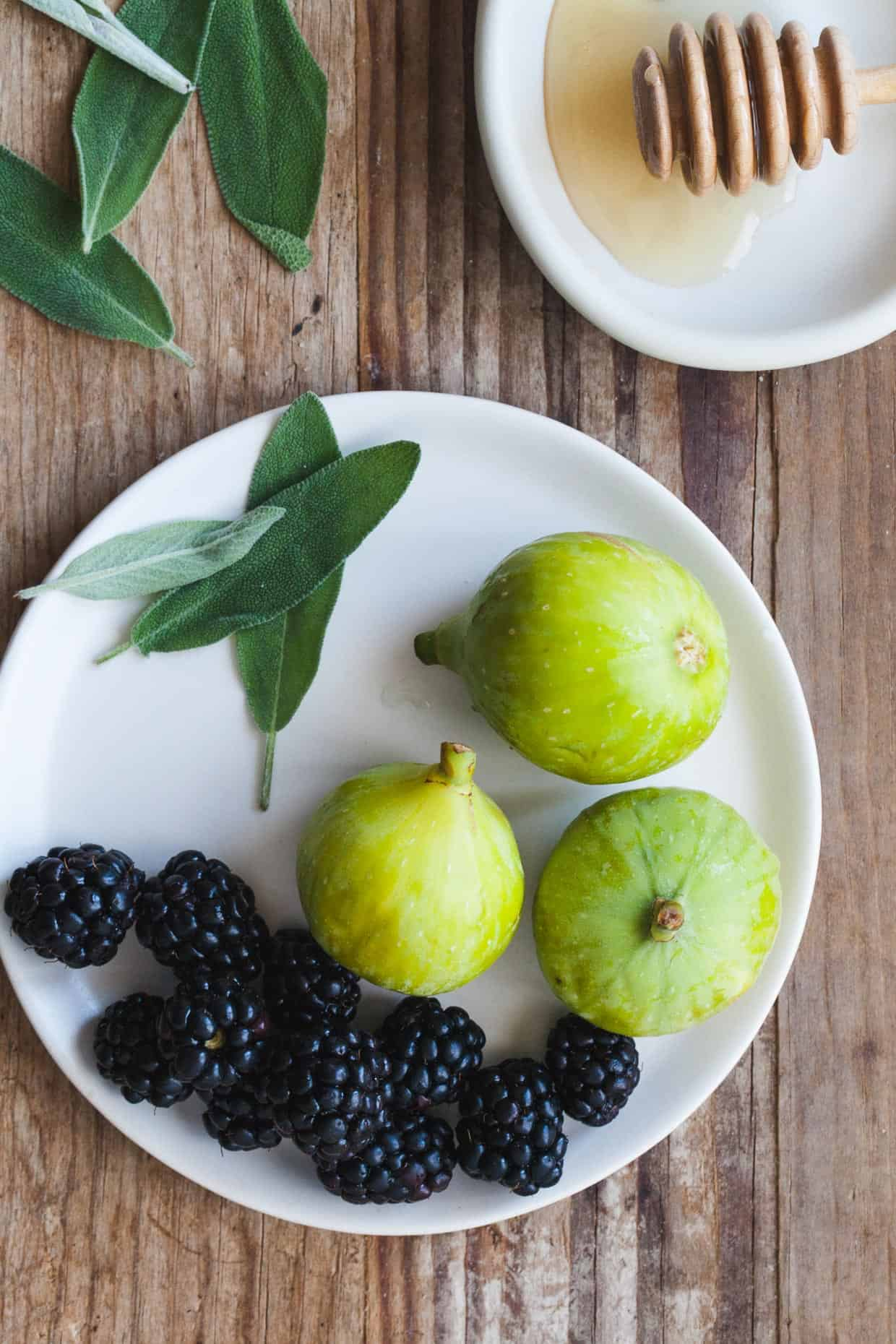 Blackberries, Figs, and Sage
