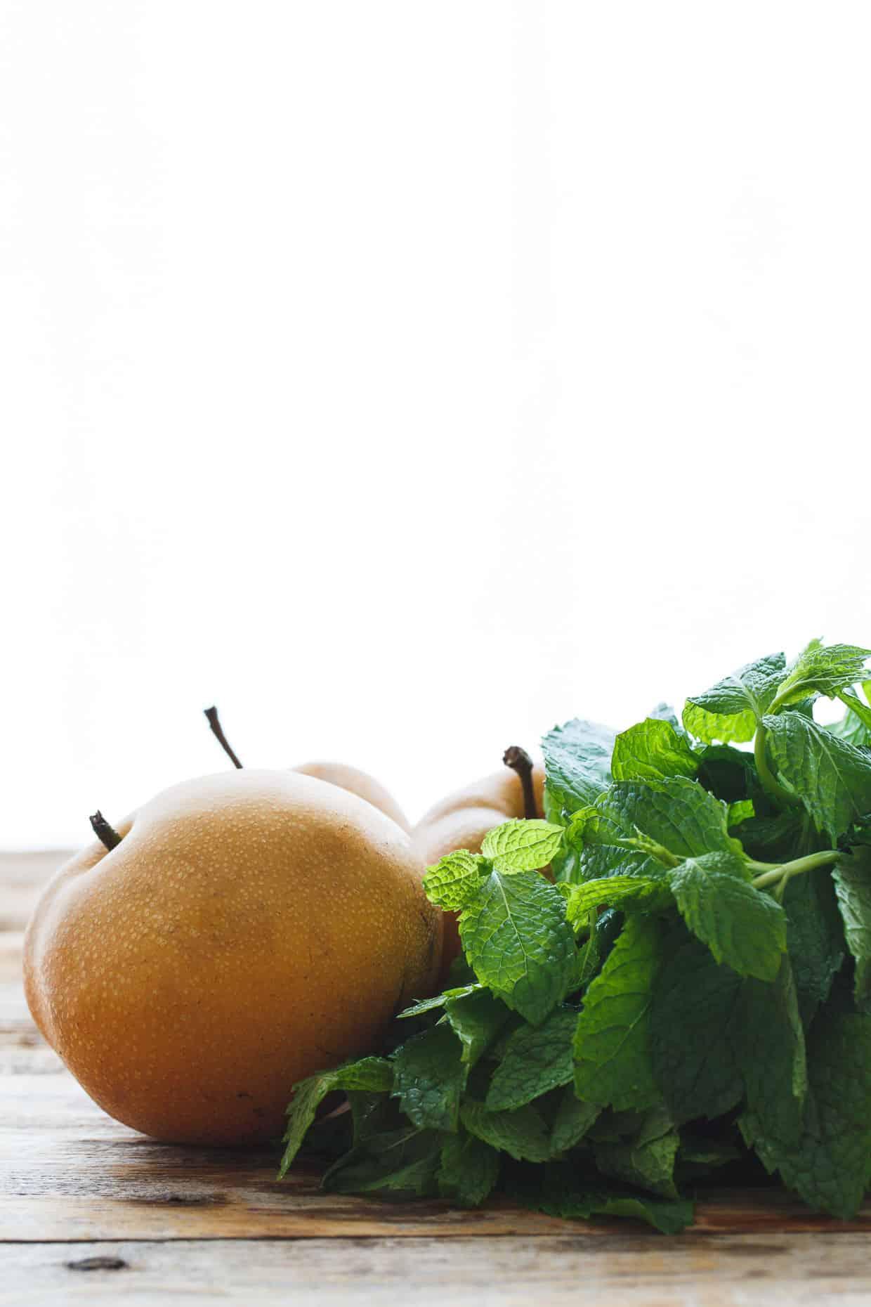 Asian Pear & Mint