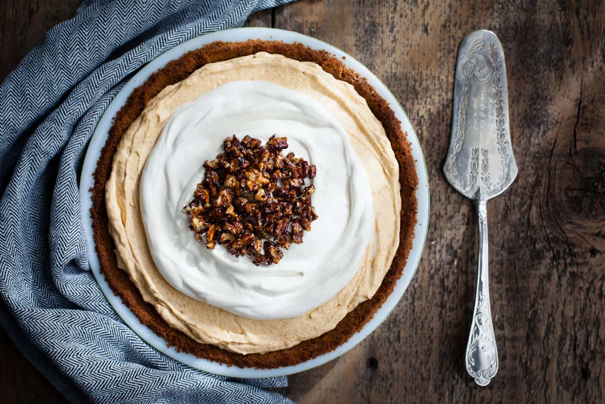 ... pie you might like! Almost No-Bake Pumpkin Cheesecake Mousse Pie