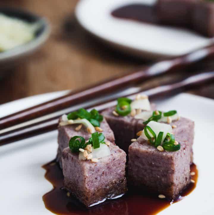 Adzuki Bean Tofu - Soy Free Tofu