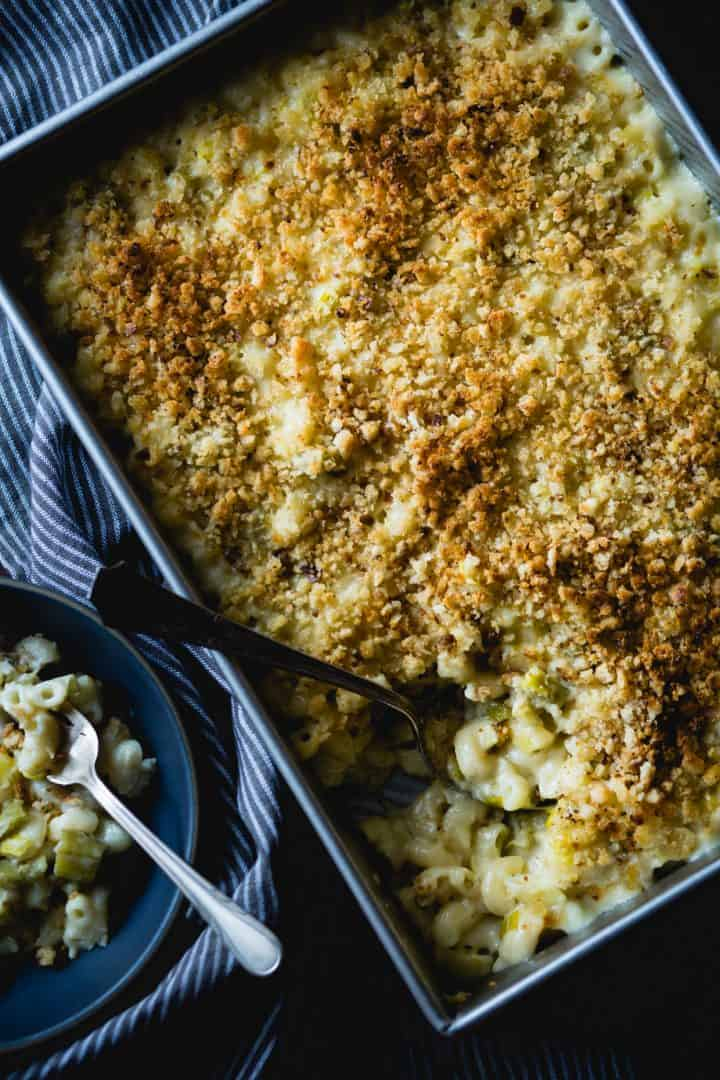 creamy cardoon macaroni and cheese {gluten-free}