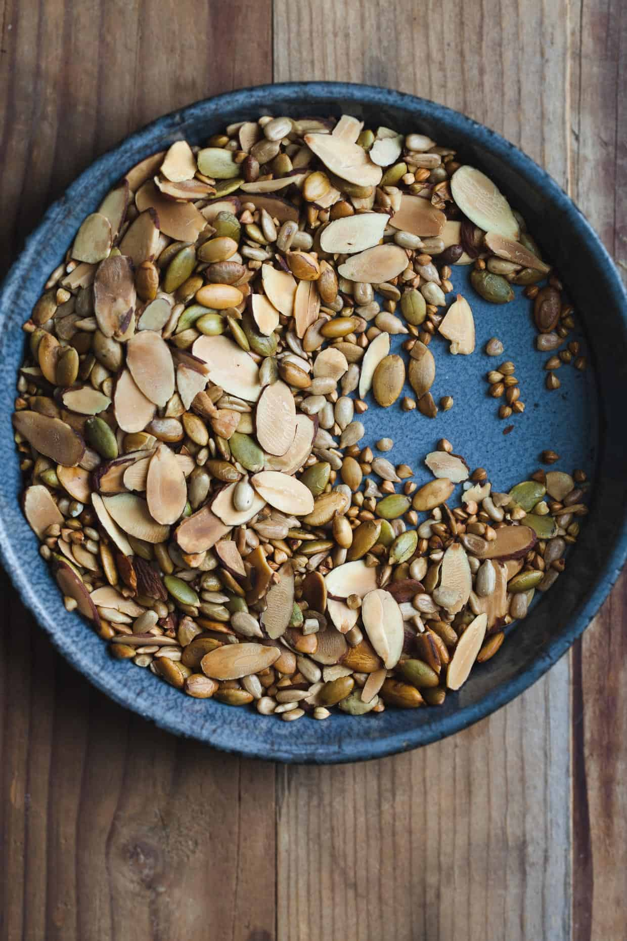 Toasted Nuts, Seeds, & Buckwheat
