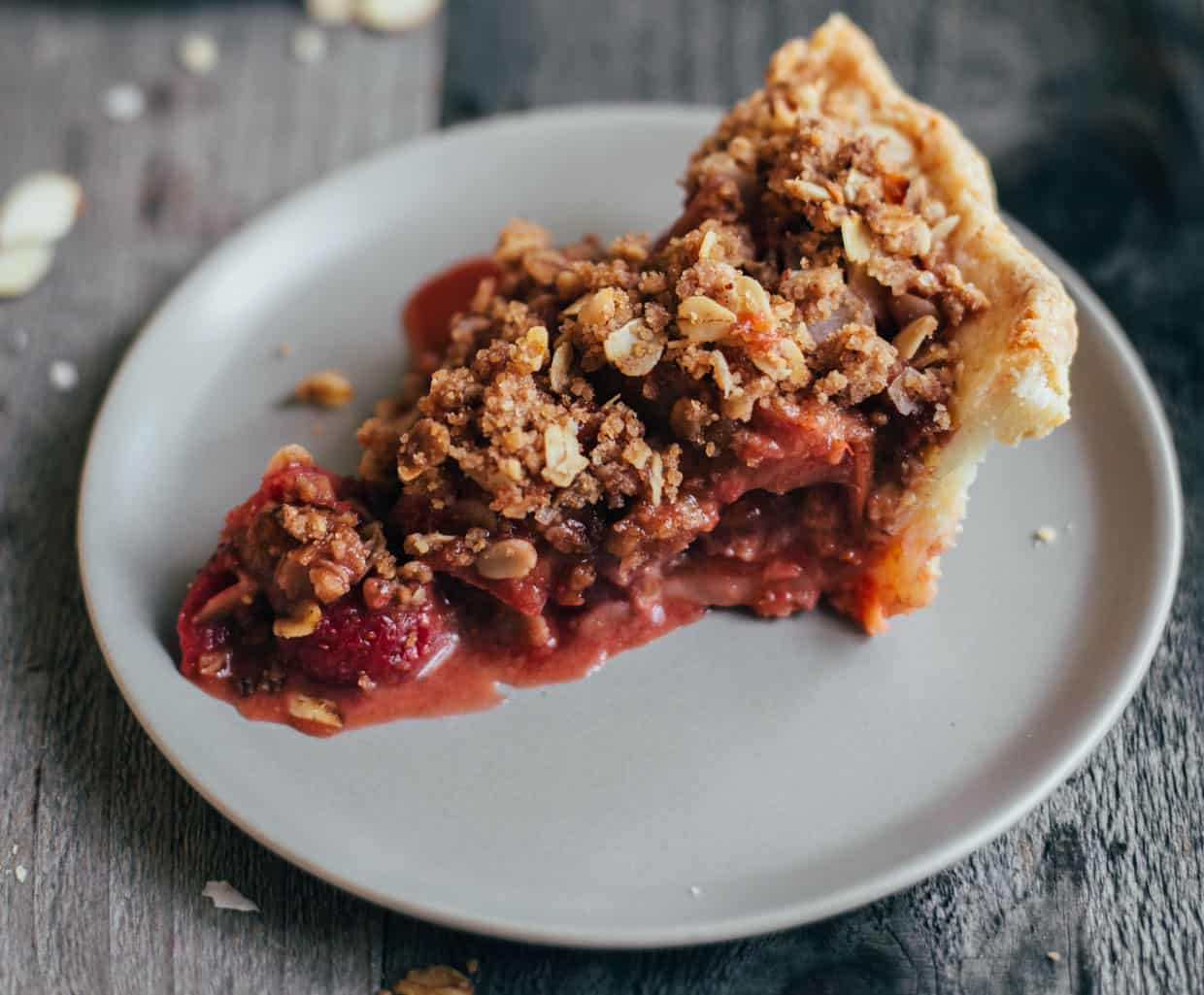 Gluten-Free Strawberry Rhubarb Pie