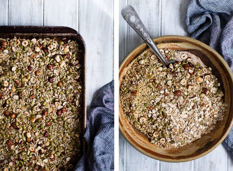 Cinnamon Raisin Seed and Nut Bread (Gluten-free & Vegan)