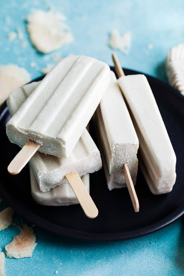 Coconut Lemongrass Ginger Popsicles