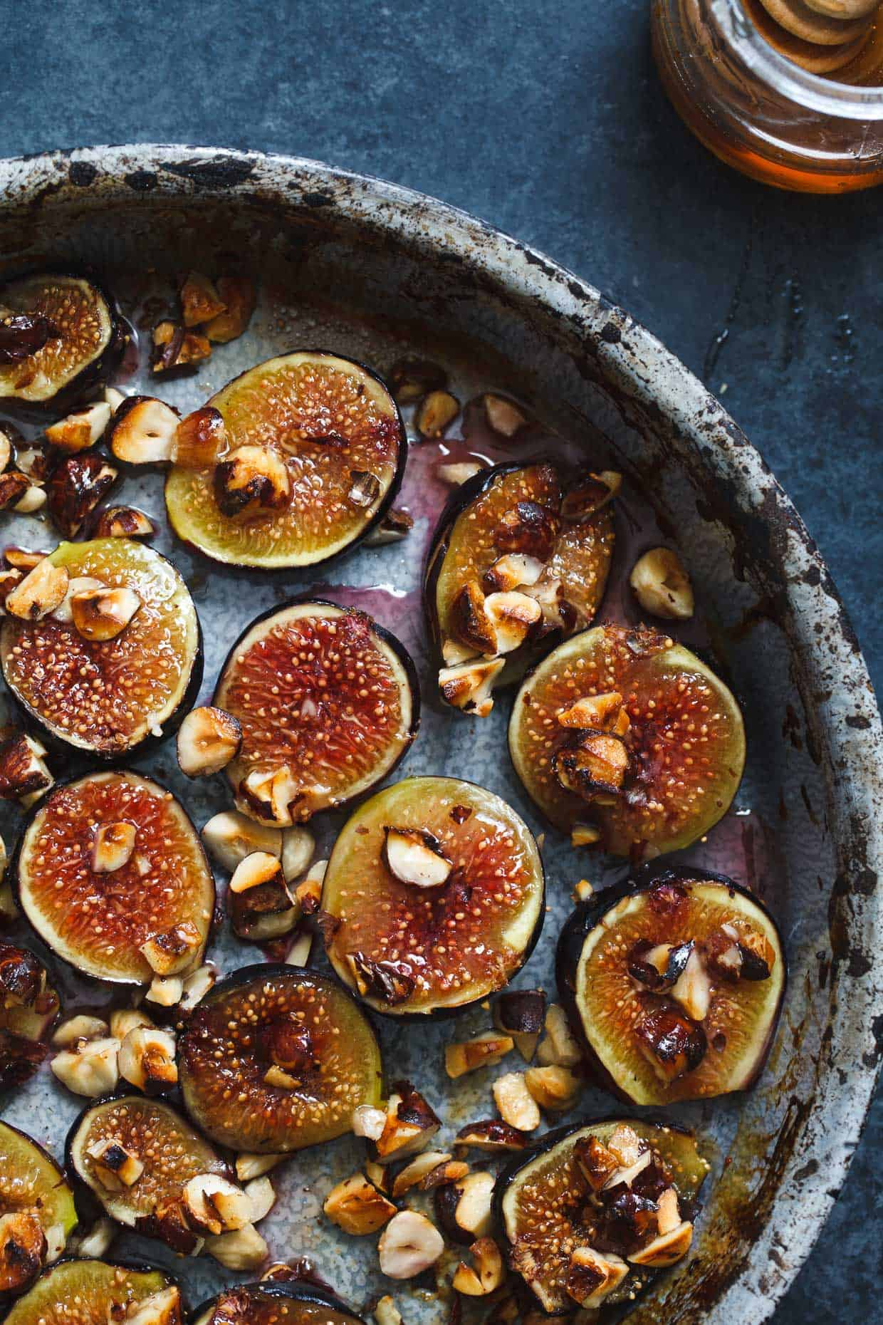 Honey Roasted Figs & Hazelnuts