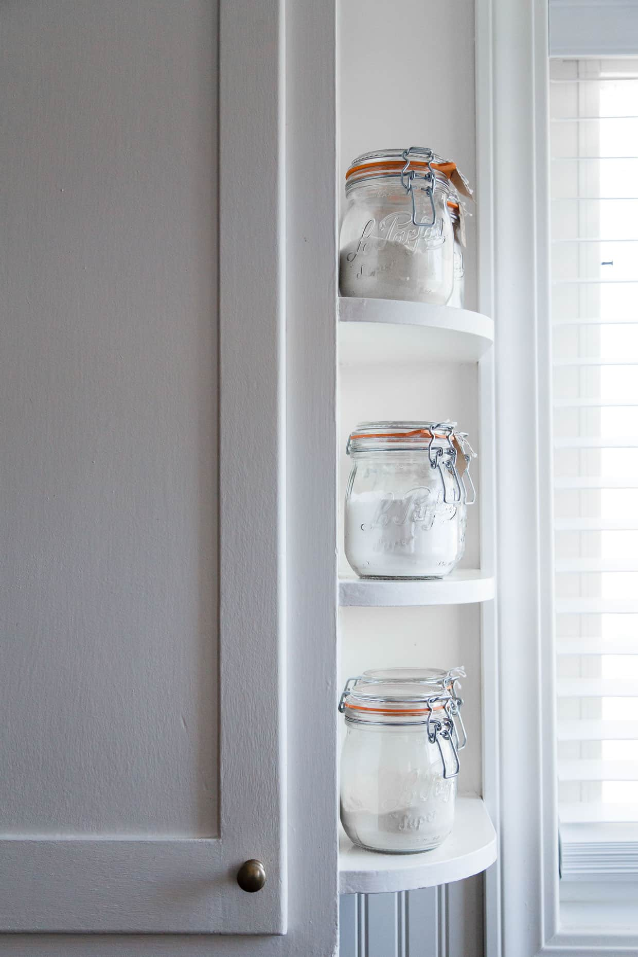 Kitchen Built In Shelves