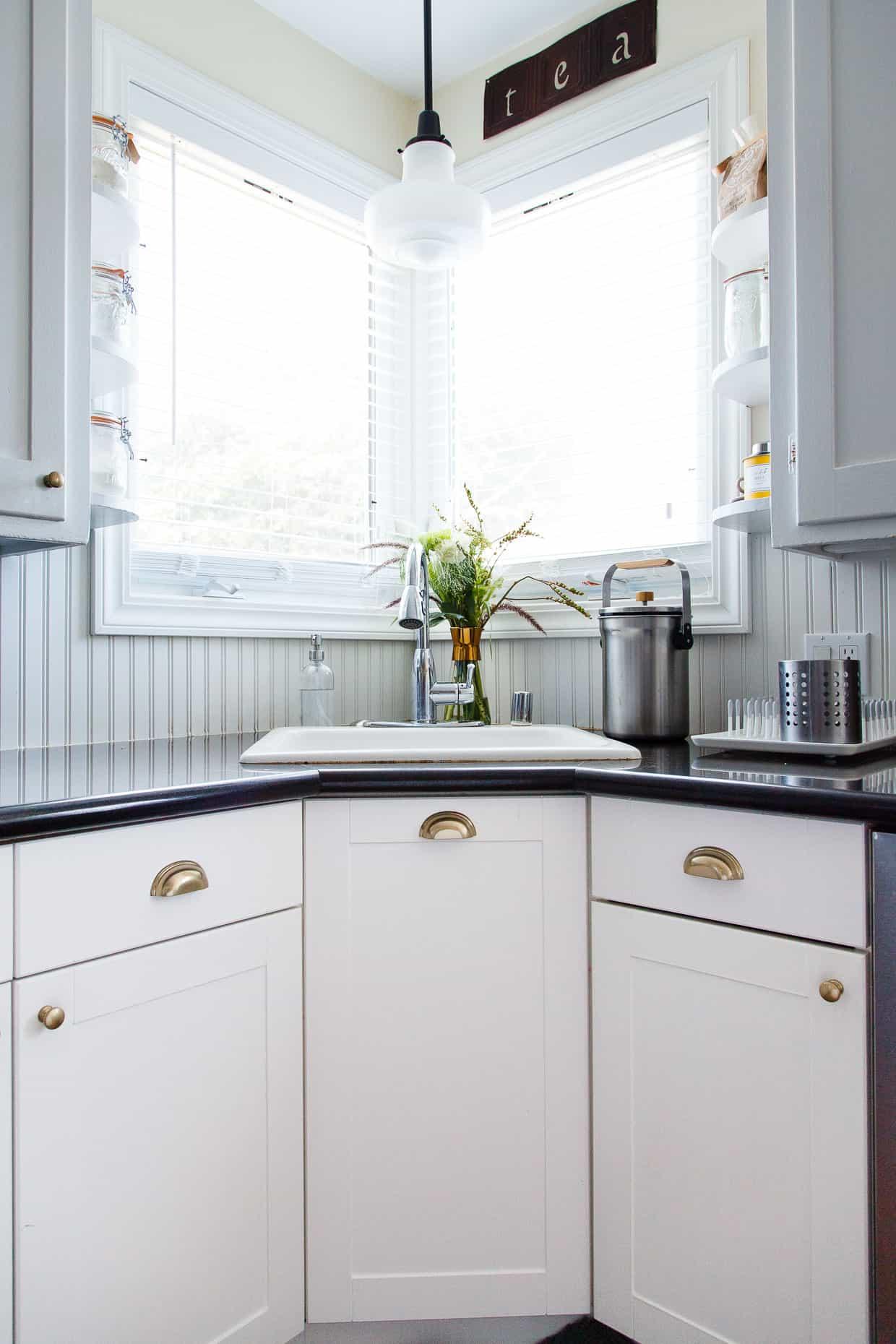 Corner Kitchen Window - Snixy Kitchen