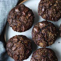 Gluten-Free Mexican Chocolate Buckwheat Muffins