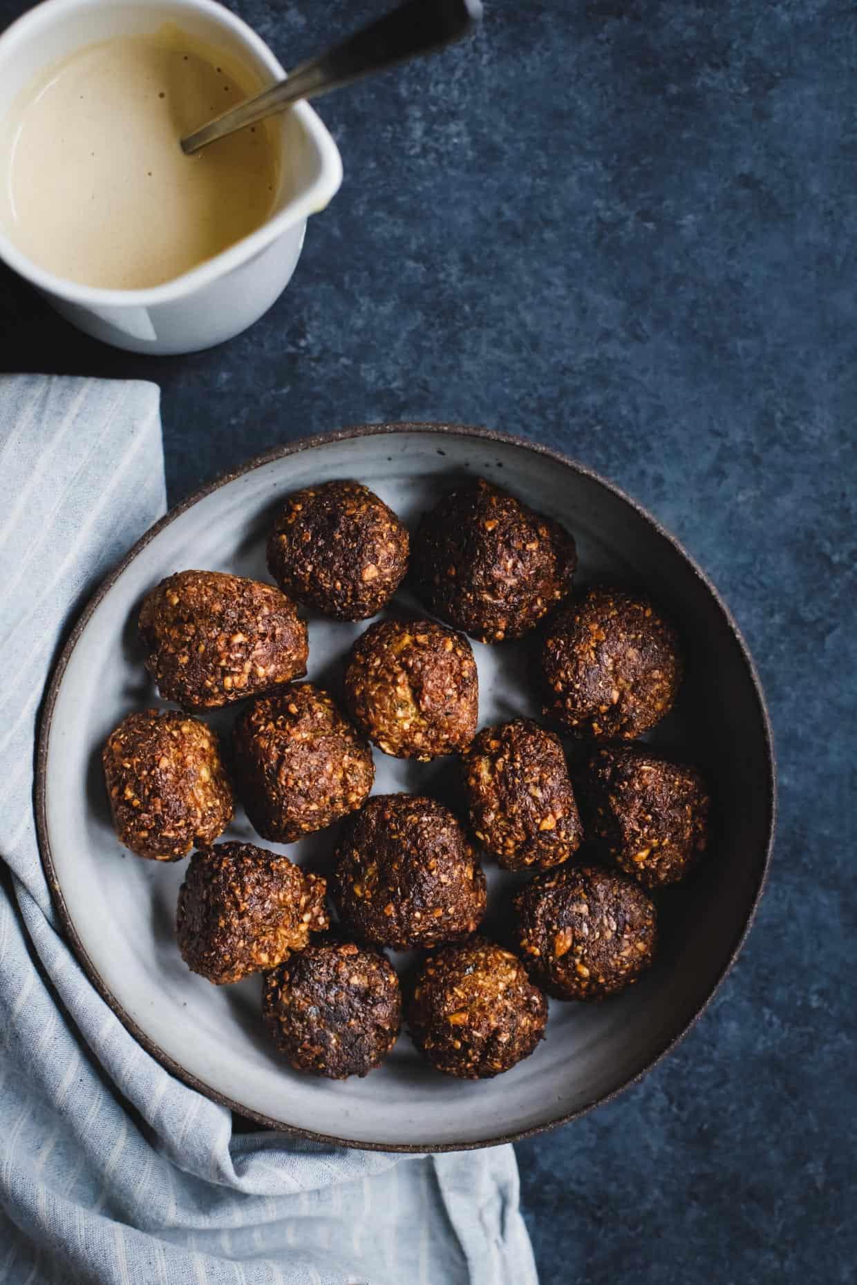 Gluten-Free Butternut Squash Falafels