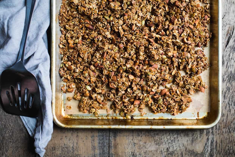 Cardamom Almond Granola