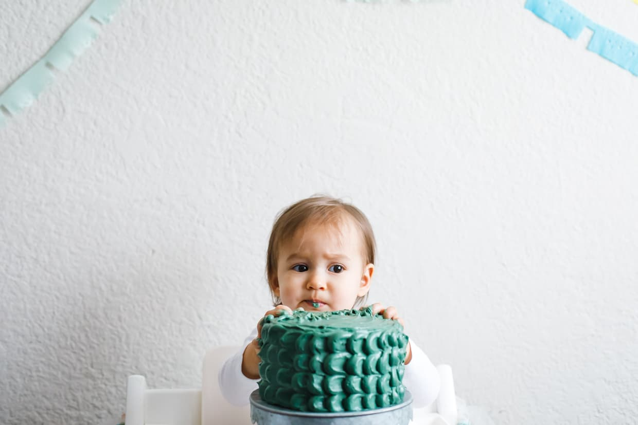 Dragon Cake - Baby Smash Cake (gluten-free and refined sugar-free)