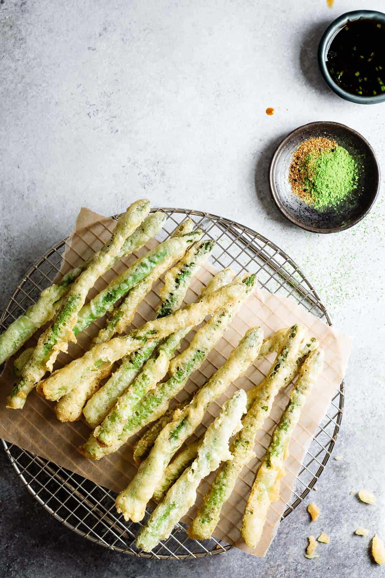 how to use tempura flour