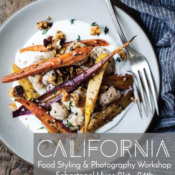Sebastapol Food Styling & Photography Workshop