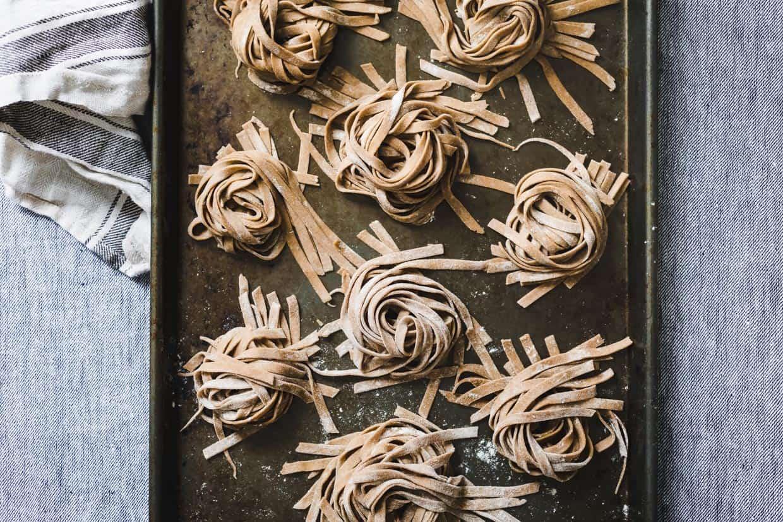 Homemade Whole Grain Gluten-Free Pasta