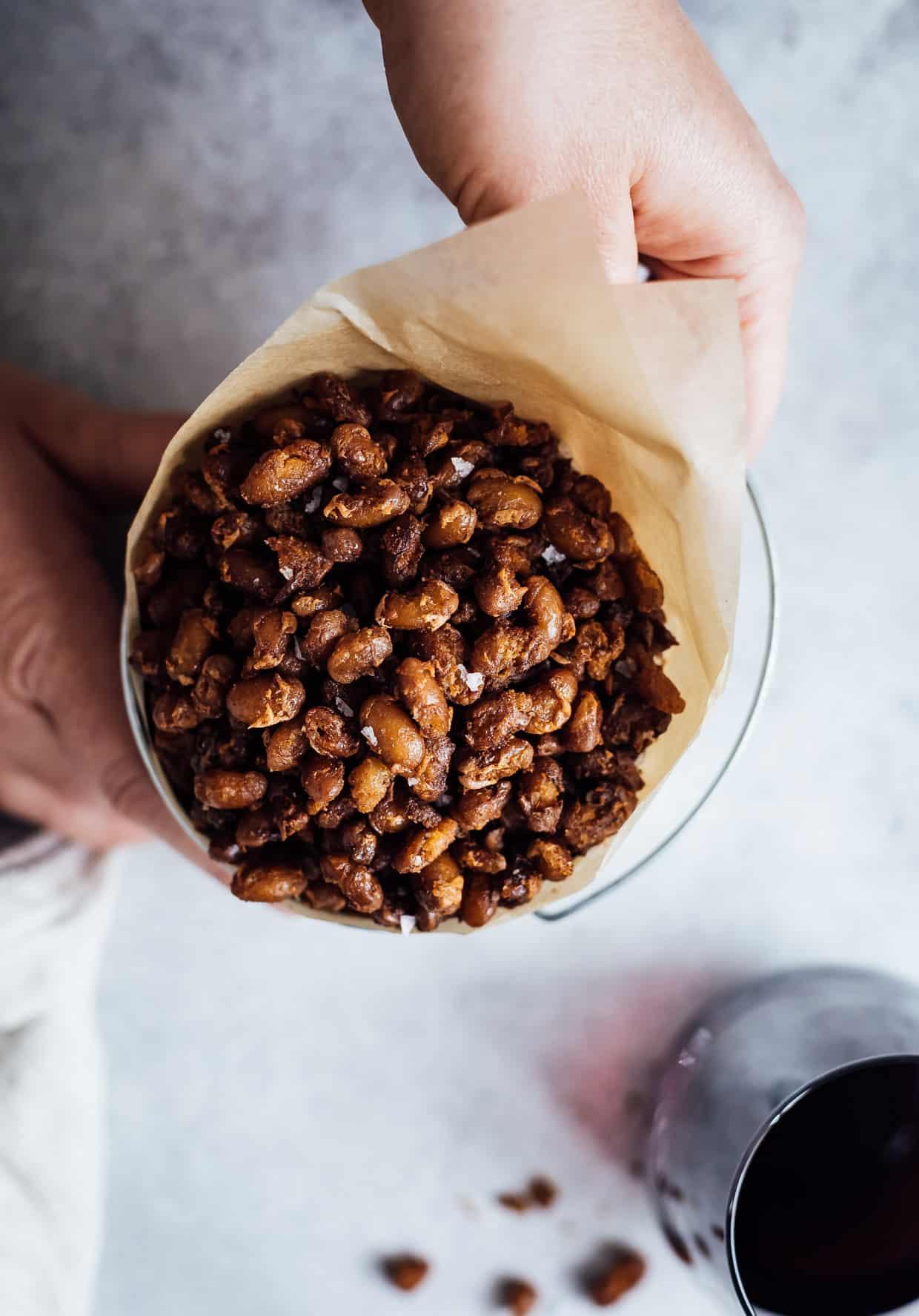 Crispy Barbecue Beans