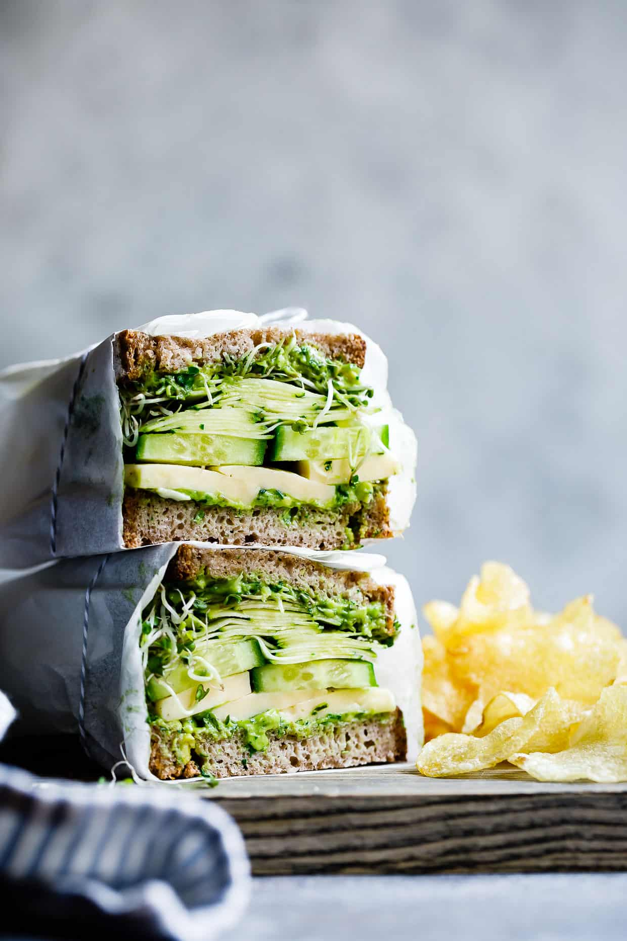 Avocado Green Goddess Sandwiches with Havarti | Snixy Kitchen ...