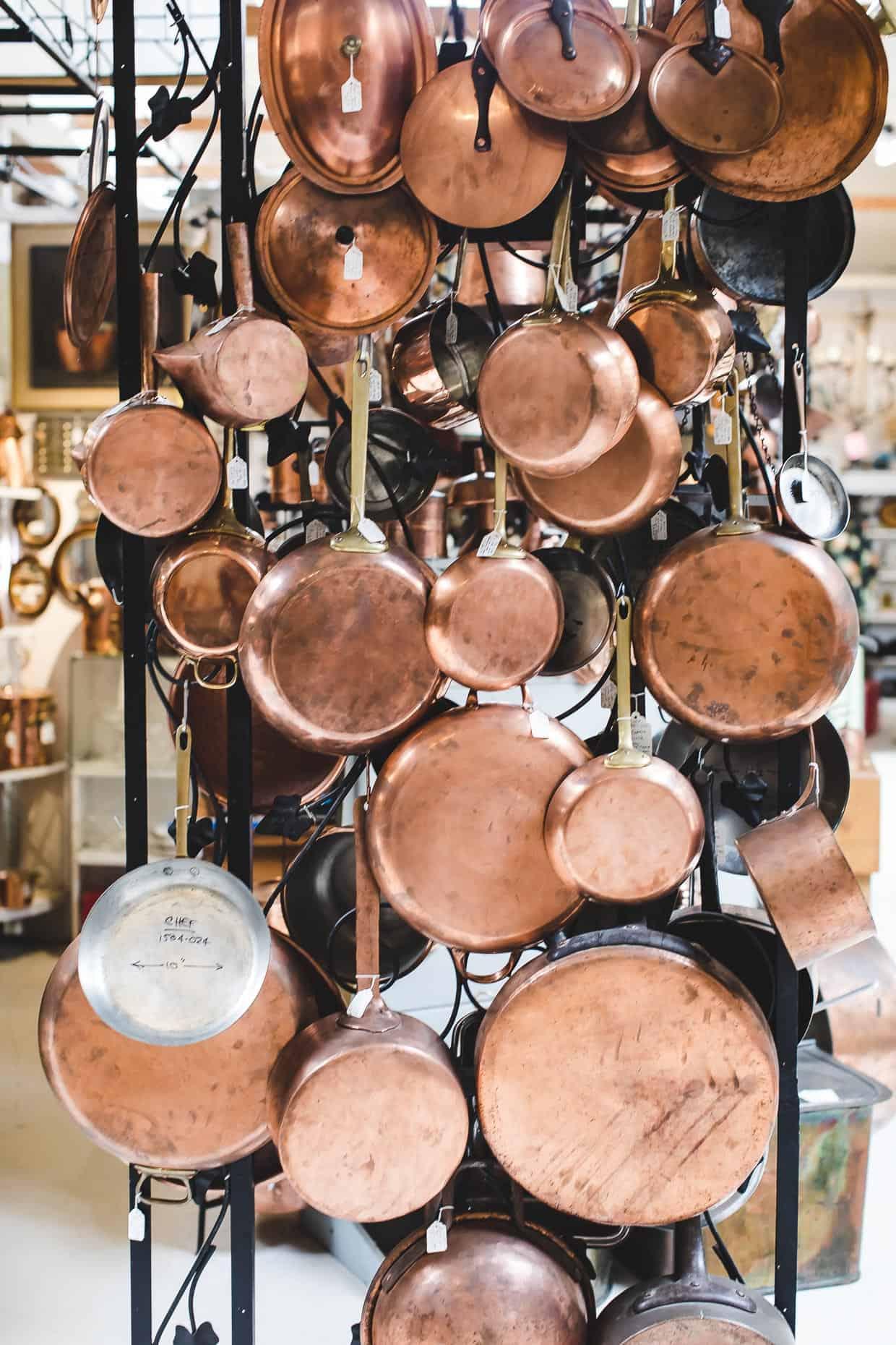 Copperware pots