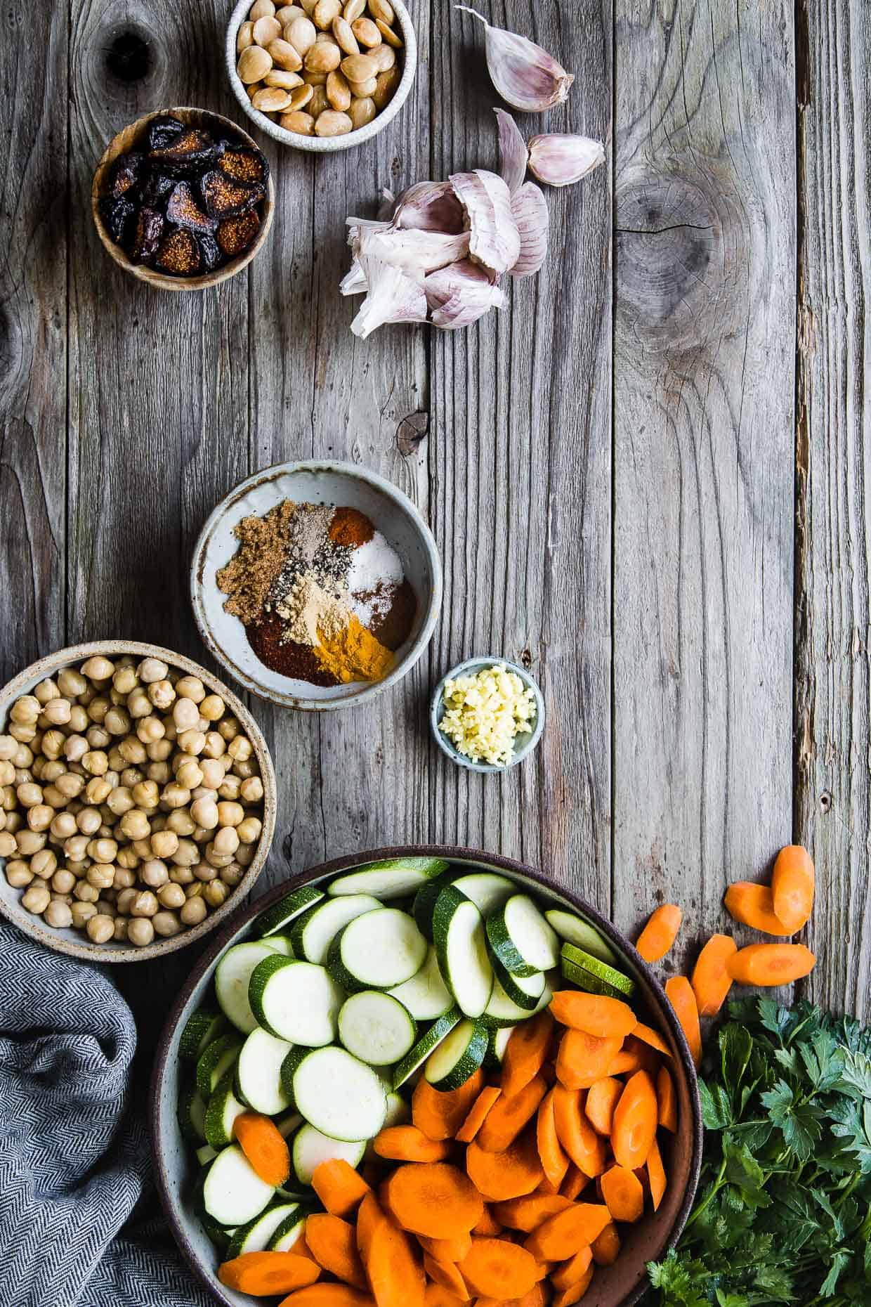 Moroccan Summer Vegetable Tagine