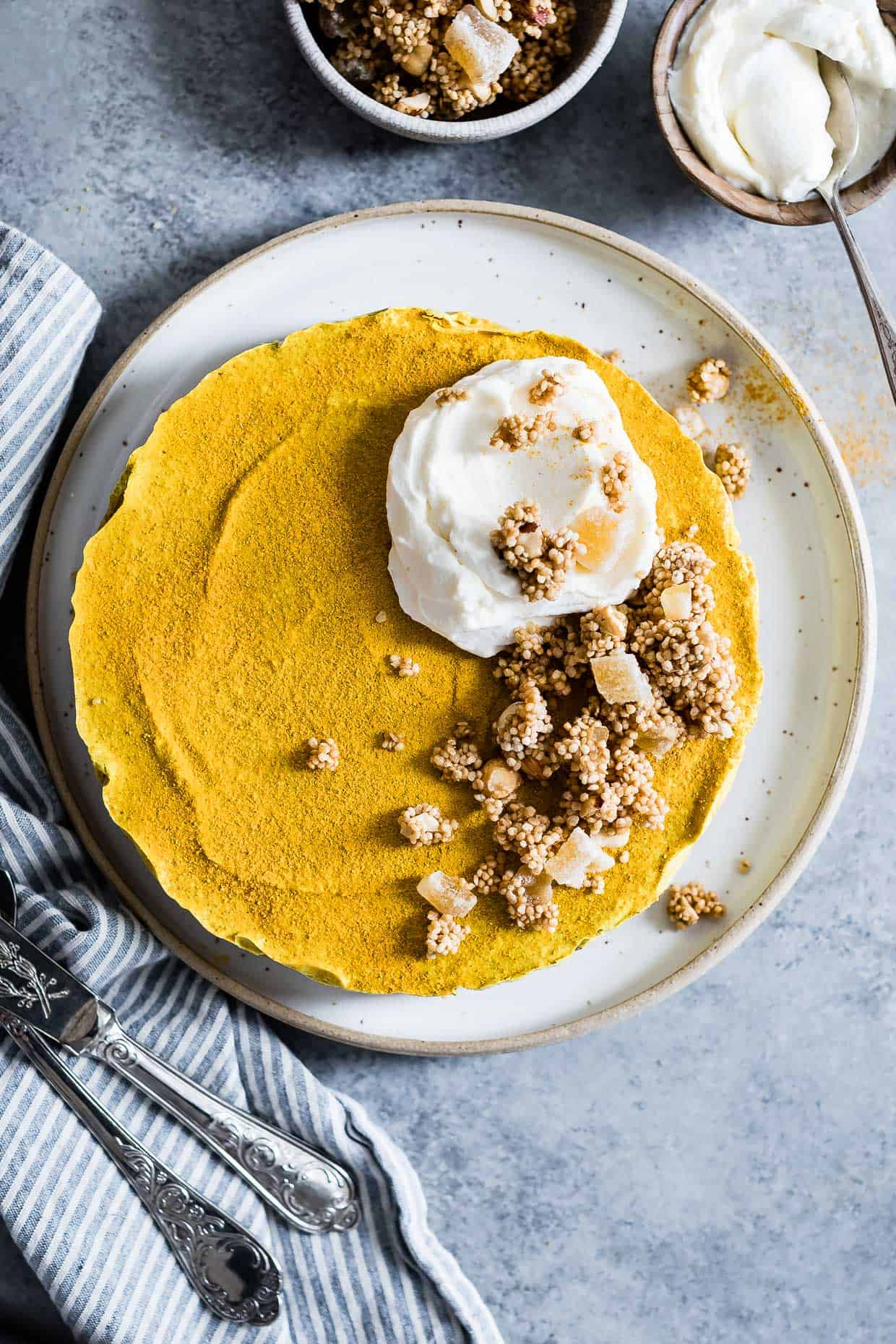 Raw Vegan Golden Milk Cheesecake-7