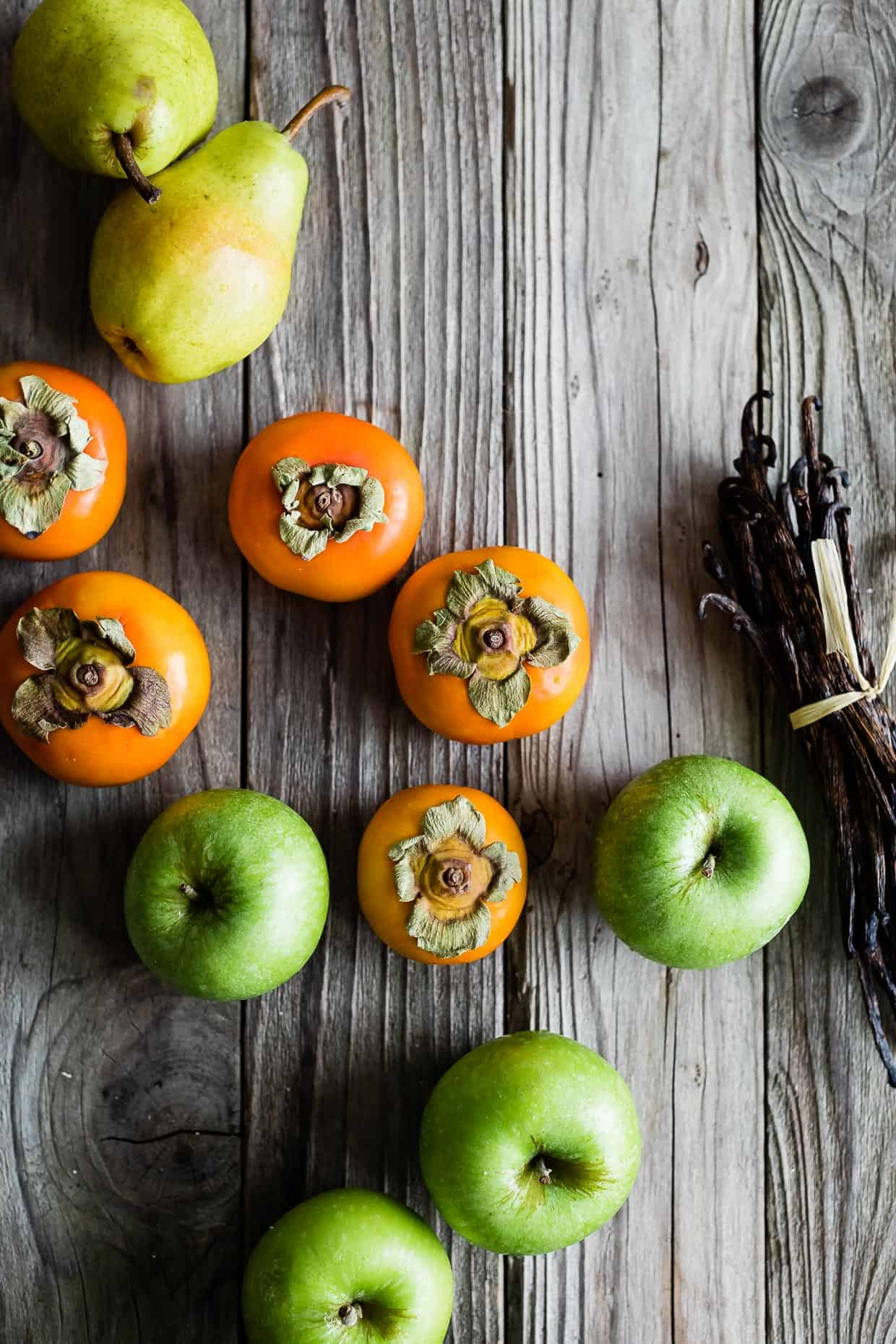 Apples, Pears, & Persimmons