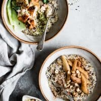 Multigrain Porridge, Two Ways: Savory Porridge & Sweet Porridge