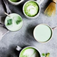 Matcha Latte Recipe - Electric Milk Steamer & Frother