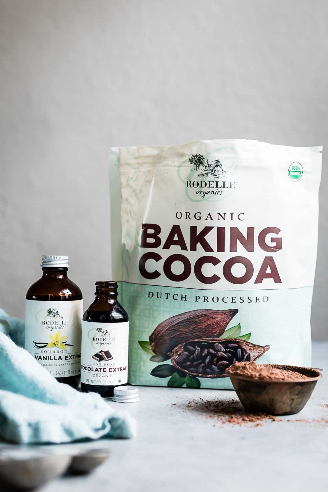 Rodelle Organic Baking Ingredients