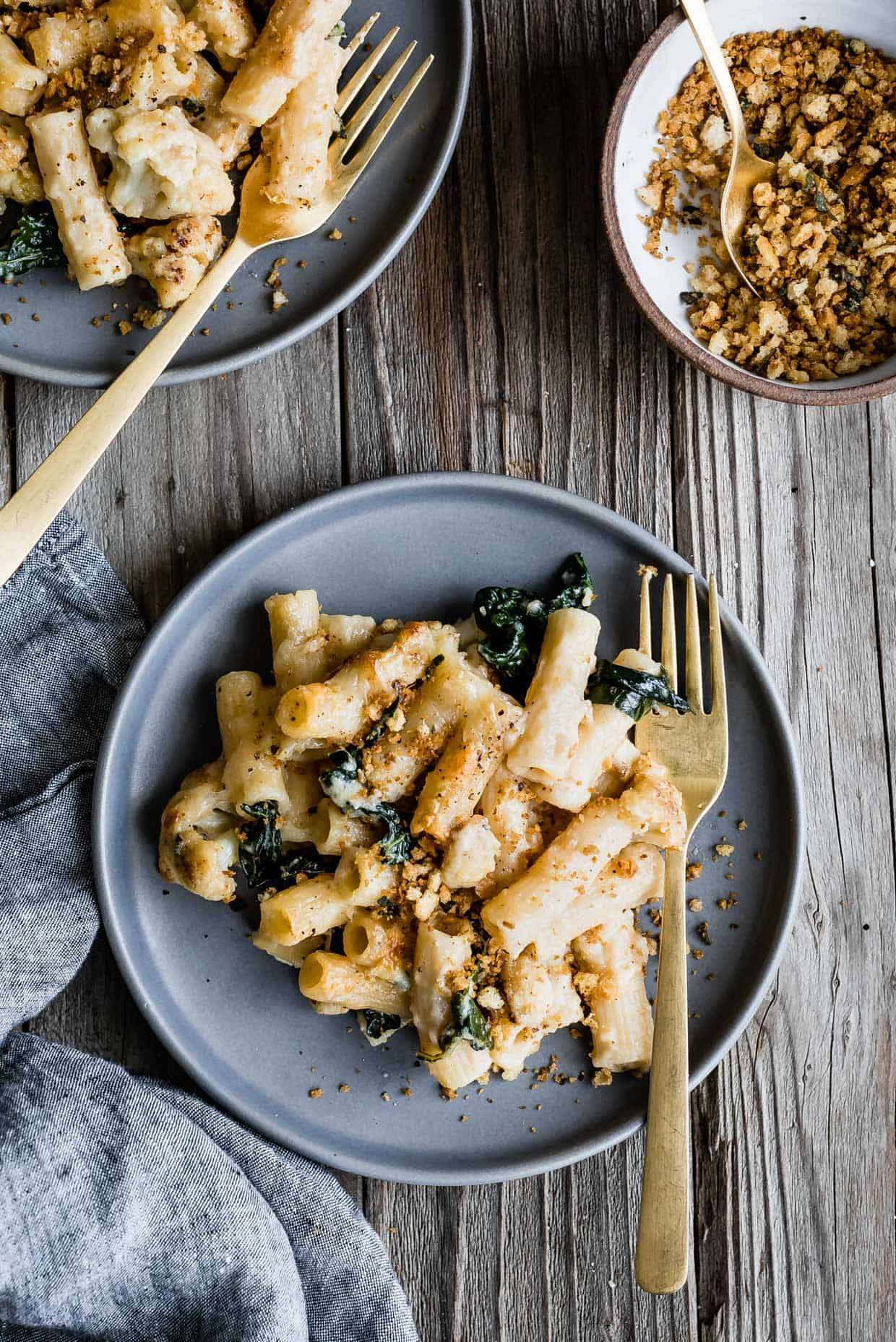 Creamy Gluten-Free Vegetable Pasta Bake
