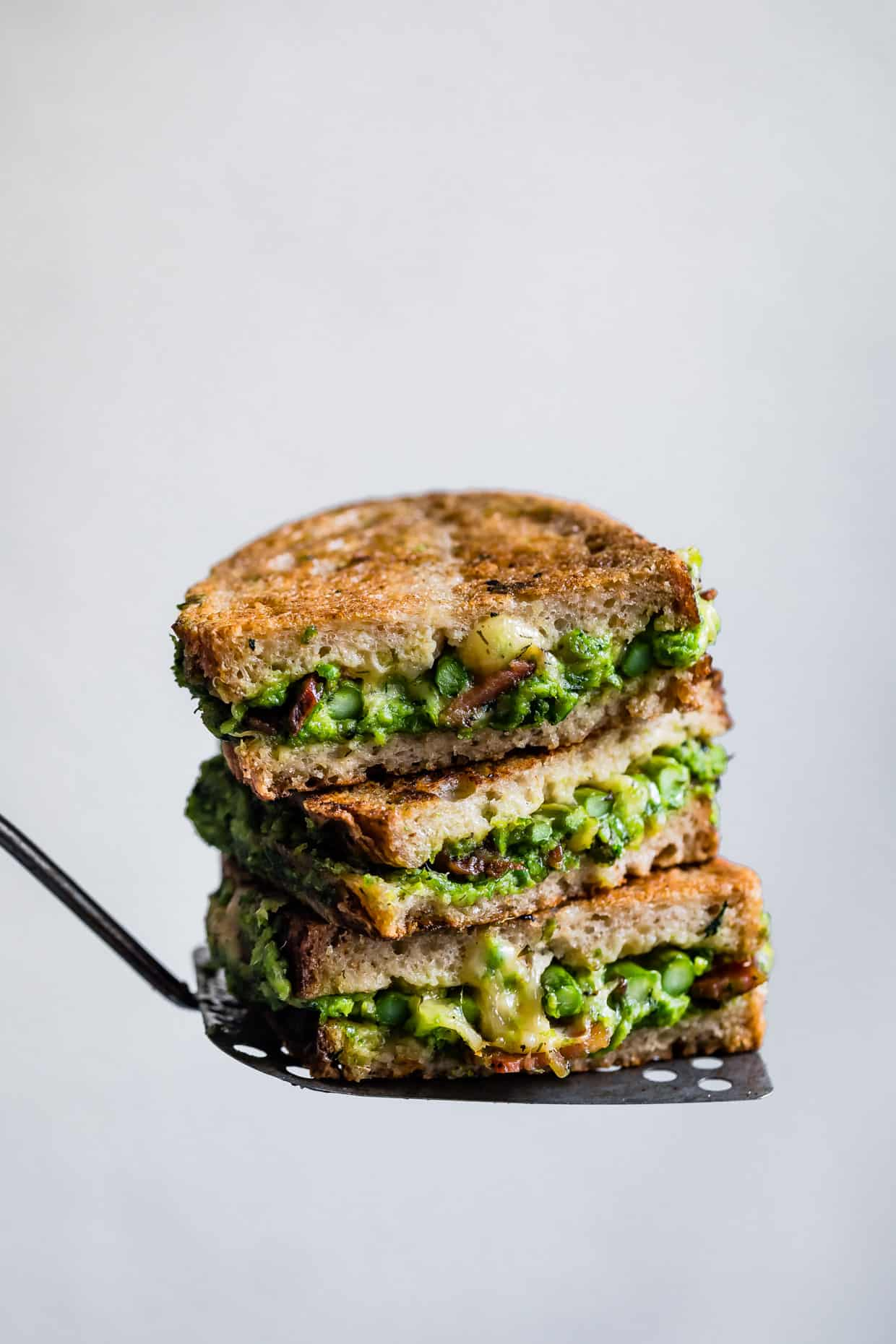 Pancetta & Spring Green Grilled Cheese