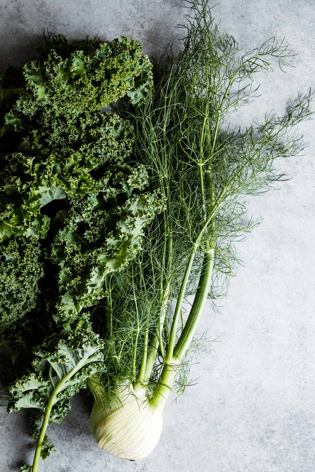 Kale and Fennel