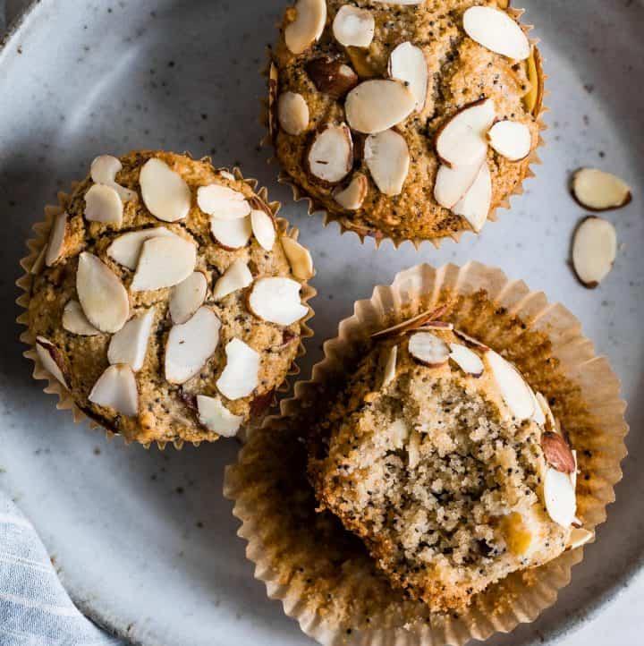 Gluten-Free Almond Muffins with Poppy Seeds
