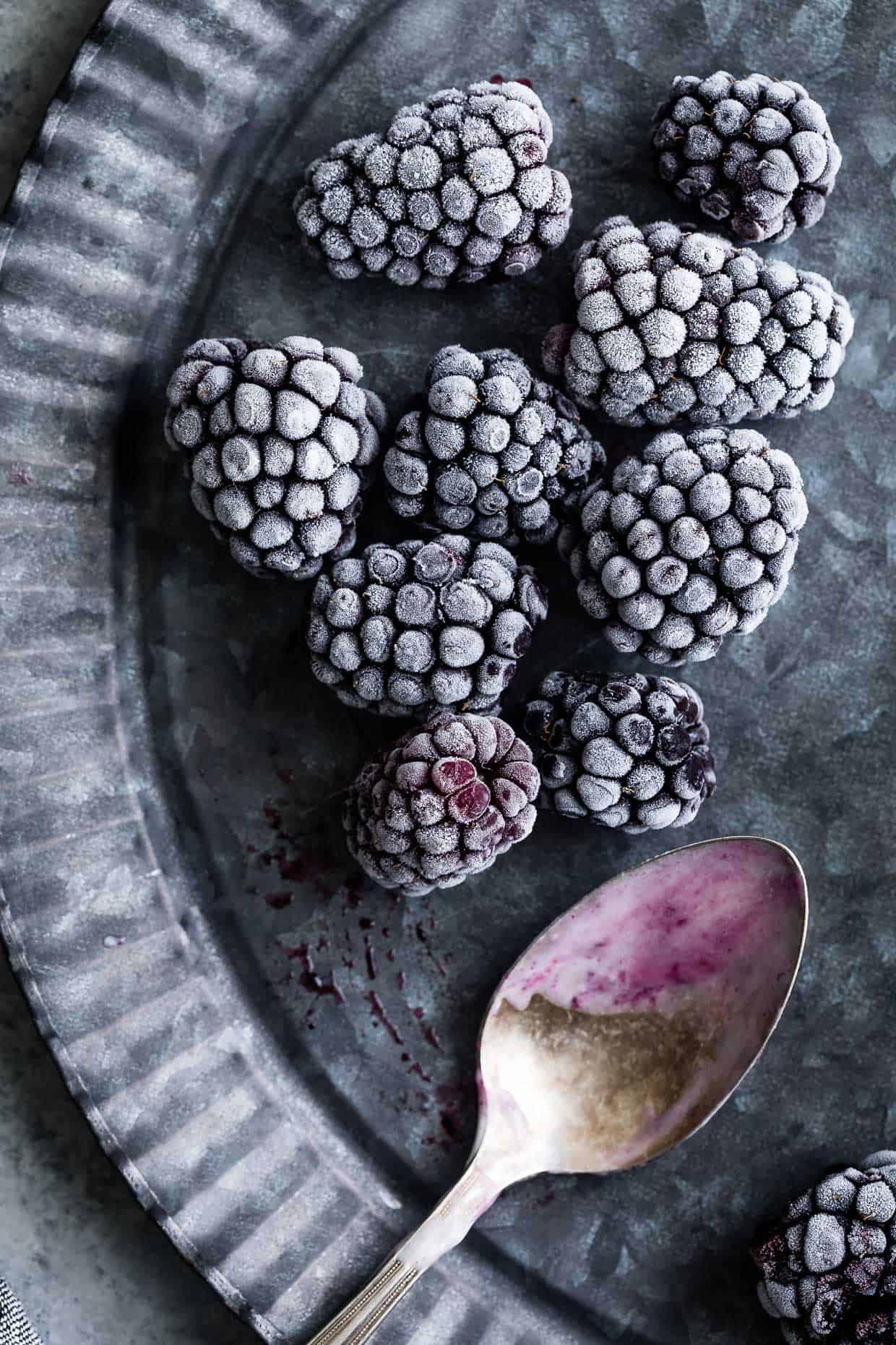Frosty Blackberries